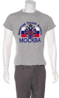Dolce & Gabbana Graphic Knit T-Shirt