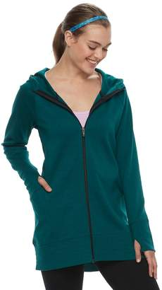 Tek Gear Women's Thumb Hole Long Jacket