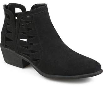 Co Generic Brinley Womens Side Slit Faux Suede Booties