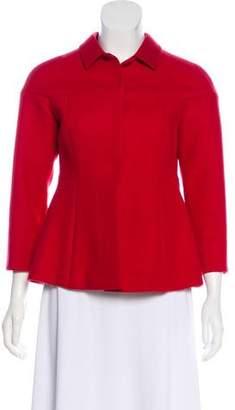Miu Miu Virgin Wool Collared Jacket