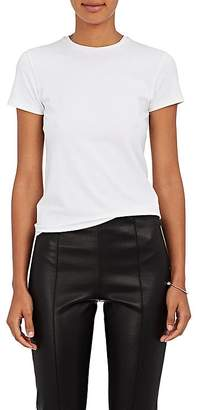 ATM Anthony Thomas Melillo Women's Stretch-Pima Cotton Fitted T-Shirt