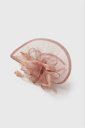 Wallis Pink Side Net Fascinator