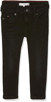 Tommy Hilfiger Baby Girls' Sophie Skinny Jeans, (Authentic Dusty Blue Stretch 911)