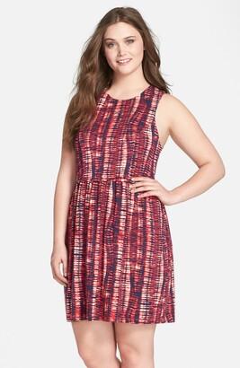 Tart 'Lorenza' Print Jersey Fit & Flare Dress