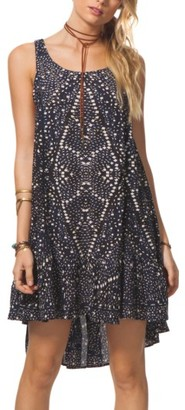 Women's Rip Curl Sun Shadow Print Swing Dress $49.50 thestylecure.com