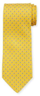 Salvatore Ferragamo Honeybee Silk Tie, Yellow
