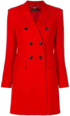 Marc Cain slim double-breasted coat