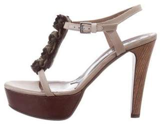 Marni Ruffle-Trimmed Platform Sandals