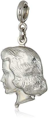 DAY Birger et Mikkelsen 1928 Jewelry Mother's Items tone Girl Head Charm