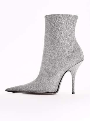 Balenciaga Knife Boots Glitter