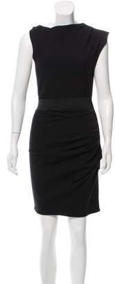 Lanvin Sleeveless Wool Dress