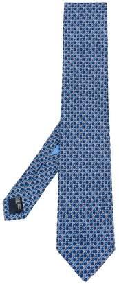 Salvatore Ferragamo logo print tie