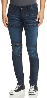 G-STAR RAW 5620 3D Super Slim Fit Jeans in Vintage Dark $170 thestylecure.com