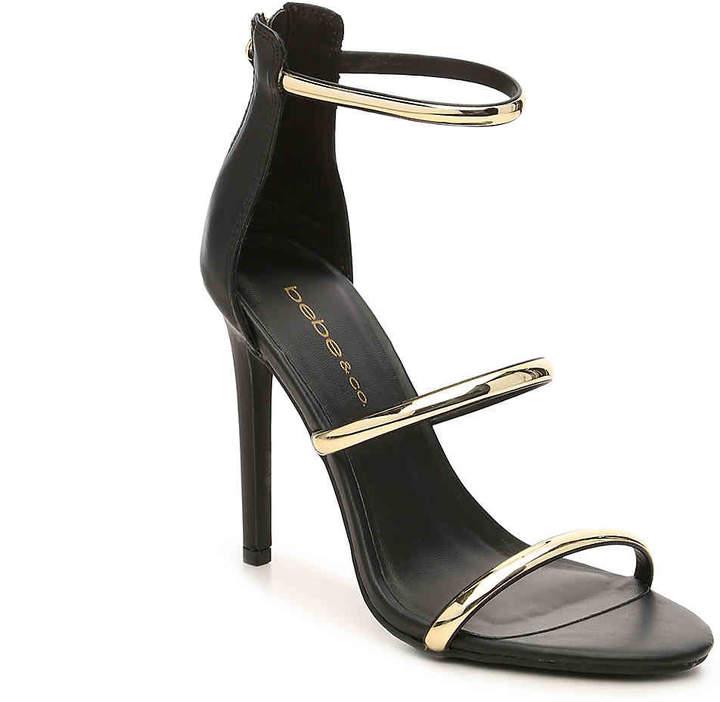 Women's Berdine Sandal -Black/Gold Metallic