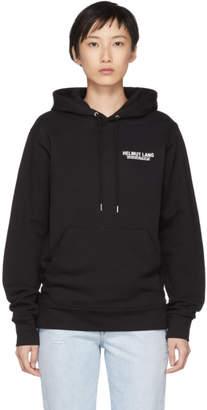 Helmut Lang SSENSE Exclusive Black Logo Hoodie