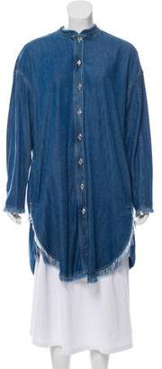 Acne Studios Gracie H Denim Shirtdress