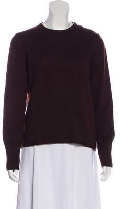 Burberry Merino Wool Long Sleeve Sweater