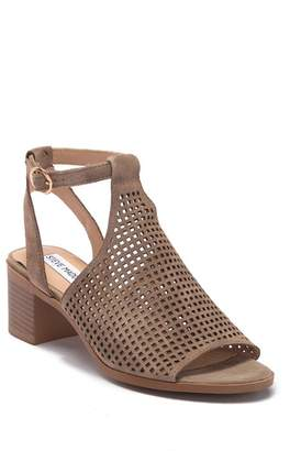 Steve Madden Barlow Perforated Suede Sandal