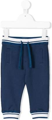 Dolce & Gabbana striped drawstring jogging trousers