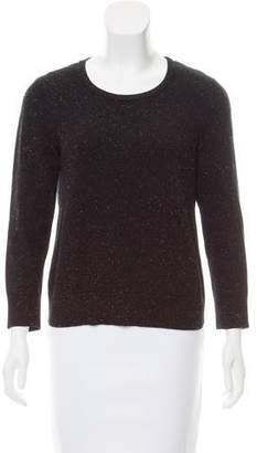 Rag & Bone Scoop Neck Rib Knit Sweater