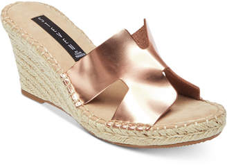 Steve Madden Steven by Eryk Espadrille Wedge Sandals