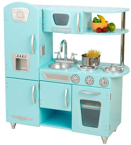 Kid Kraft Blue Vintage Kitchen