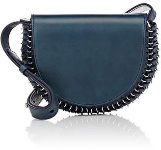 Paco Rabanne Women's 14#02 Half Moon Leather Mini Crossbody Bag