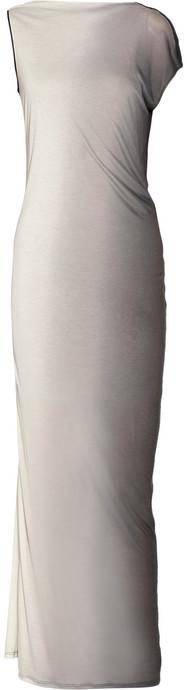 Helmut Lang Shadow ombré modal and silk-blend jersey maxi dress