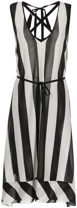 Taylor Pinpoint midi dress