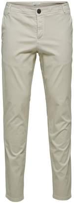 Selected Luca Skinny-Fit Mid-Rise Pants