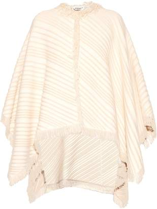 Sonia Rykiel Diagonal-knit cotton-blend poncho