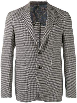 Etro patterned long sleeve blazer