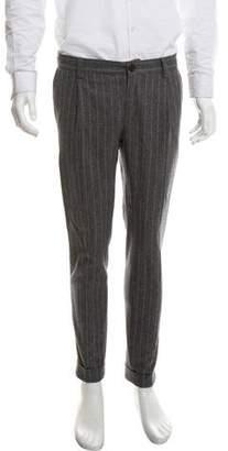 Brunello Cucinelli Wool Striped Pants
