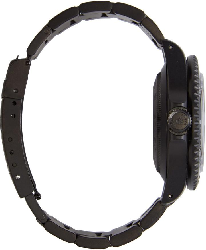 Black Limited Edition Matte Black Limited Edition Rolex Sea Dweller Watch 3
