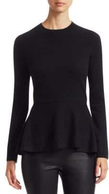 Saks Fifth Avenue COLLECTION Cashmere Peplum Sweater