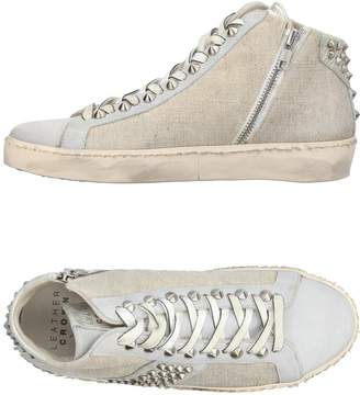 Leather Crown High-tops & sneakers - Item 11395111OW