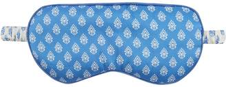 Derek Rose Brindisi 20 printed reversible silk-satin eye mask