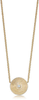 Kiki McDonough Fantasy 18K Gold Pendant Necklace with White Topaz
