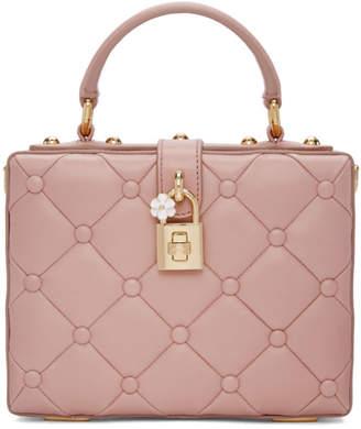 Dolce & Gabbana Pink Dolce Box Bag