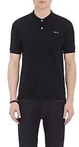Comme des Garcons Men's Piqué Polo Shirt - Black