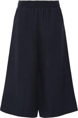Mother of Pearl Minos Textured-Wool Culottes