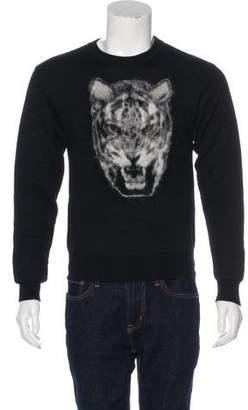 Saint Laurent 2016 Tiger Crew Neck Sweater