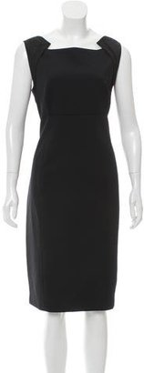 Elie Tahari Sleeveless Mid Dress $95 thestylecure.com