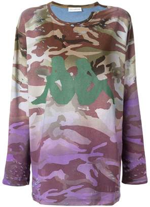 Faith Connexion camouflage print sweatshirt