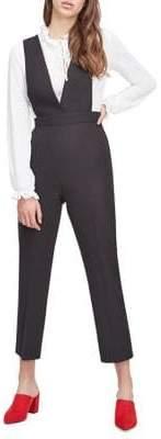 Miss Selfridge Two-In-One Kick Flare Jumpsuit