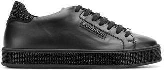 Baldinini embellished panel sneakers