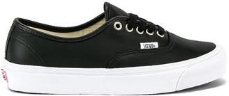 Vans OG Authentic LX in Black | FWRD