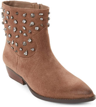 Sam Edelman Dark Taupe Avril Boots