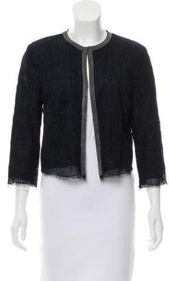 Magaschoni Embellished Lace Jacket