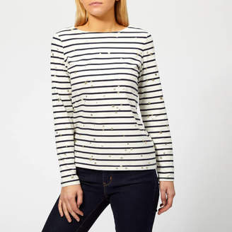 Joules Women's Harbour Printed Jersey Top